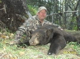 Terry had never done a guided hunt before and he wasn't sure what to expect. The hunt certainly surpassed his expectations. Seeing close to twenty bears, deer and moose really made it a great five days.